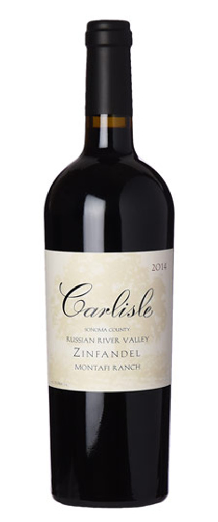 Carlisle Russian River Valley Montafi Ranch Zinfandel 2015