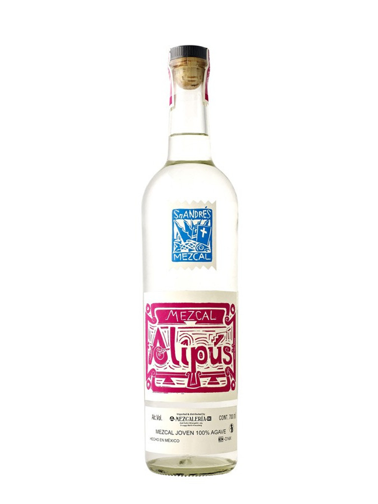 Alipus Mezcal San Andres (pink label)