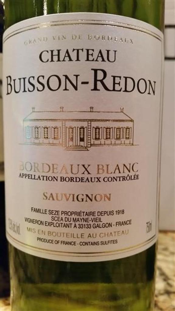 Château Buisson-Redon Bordeaux Blanc 2016