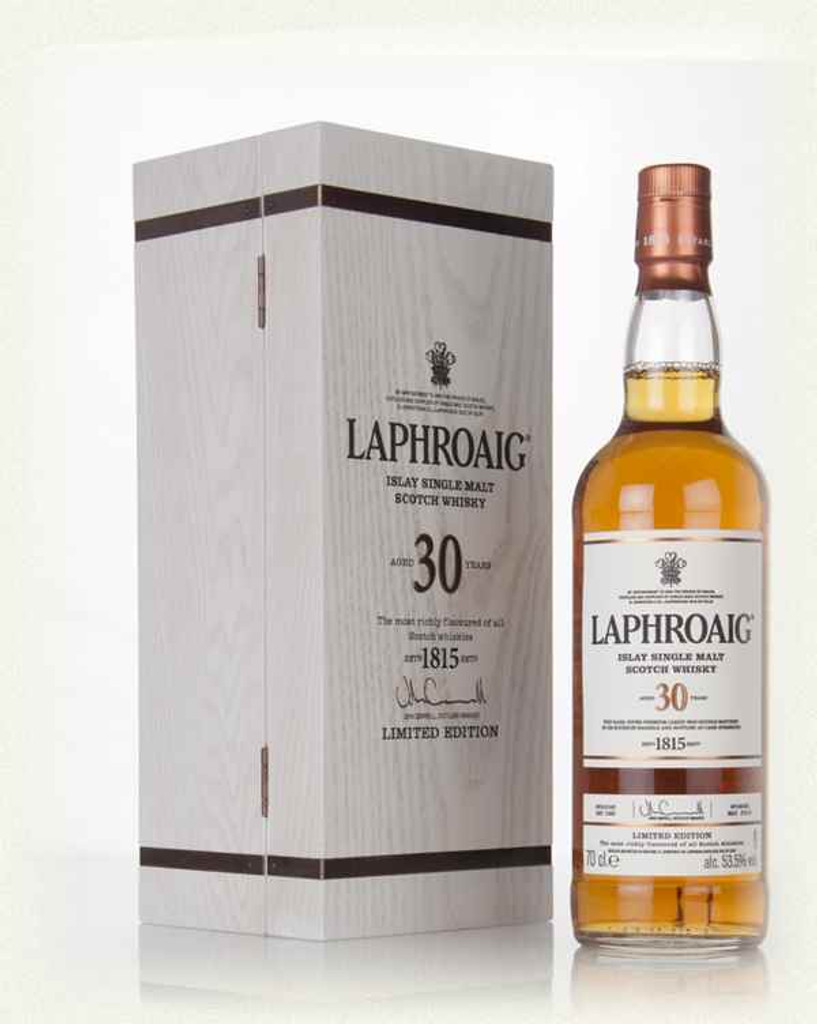 Laphroaig, 30 Years Old Cask Strength Scotch Whisky