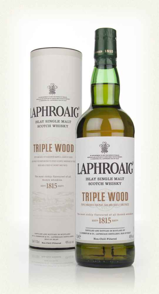 Laphroaig, Islay Single Malt Scotch Whisky Triple Wood