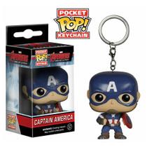 Funko Avengers Age of Ultron Captain America Pocket Pop! Vinyl Figure Key Chain