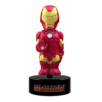 The Invincible Iron Man Marvel Comics Solar-Powered Bobble Head