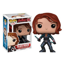Funko Avengers Age of Ultron Black Widow Pop! Vinyl Bobble Head Figure