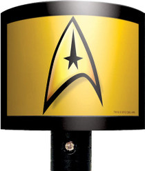 Star Trek Command Insignia Night Light