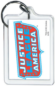 """DC Comics Justice League America Logo 3"""" x 2"""" Officially Licensed Lucite Double"""