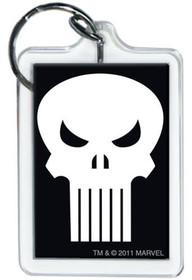 Marvel Comics Punisher Logo Lucite Keychain 65785KR