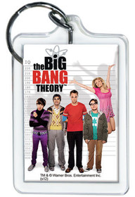 The Big Bang Theory Cast Lucite Keychain