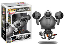 Funko POP! Games Fallout 4 Codsworth Vinyl Figure #163