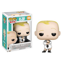 A born leader, how could anyone be mad at Boss Baby? Dressed in a diaper and tie, Boss Baby is sculpted in a sassy pose as a Pop! Vinyl figure. Measuring approximately 3 3/4-inches tall, this Boss Baby Diaper and Tie Version Pop! Vinyl Figure comes packaged in a window display box. Ages 3 and up.