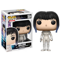 Travel to Section 9 and battle dangerous criminals! From the popular Japanese series Ghost in the Shell comes this Major figure. Packaged in a window display box, the Ghost in the Shell Major Pop! Vinyl Figure measures approximately 3 3/4-inches tall. Ages 14 and up.