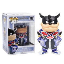 Unlock the light with the help of a familiar friend! From the Kingdom Hearts video game series comes a Funko-tastic Pete. Packaged in window display box, this Kingdom Hearts Goofy Pop! Vinyl Figure measures approximately 3 3/4-inches tall. Ages 3 and up.