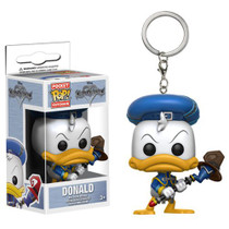 Bring a little extra courage everywhere you go! From the Kingdom Hearts video game series comes a pocket-sized Donald Duck! This Kingdom Hearts Mickey Pocket Pop! Key Chain comes packaged in a window display box and measures approximately 1 1/2-inches tall. Ages 3 and up.