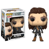 Explore the wonders of planet Earth and battle for survival with The 100! From the hit CW show, your favorite character is now an adorable Pop! Vinyl figure. Packaged in a window display box, this The 100 Octavia Blake Pop! Vinyl Figure measures approximately 3 3/4-inches tall. Ages 17 and up.