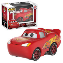 Cars 3 Lightning McQueen Pop! Vinyl Figure: Get a fast pass to fun times with the characters of Disney Pixar's Cars . With the help of rookie Cruz, Lightning McQueen is attempting a comeback in the Florida 500. The Cars 3 Lightning McQueen Pop! Vinyl Figure comes packaged in a window display box.