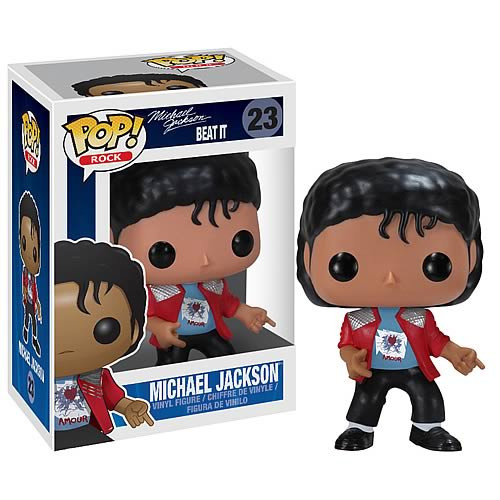 Funko POP! Rocks Michael Jackson Vinyl Figure #23 [Beat It]