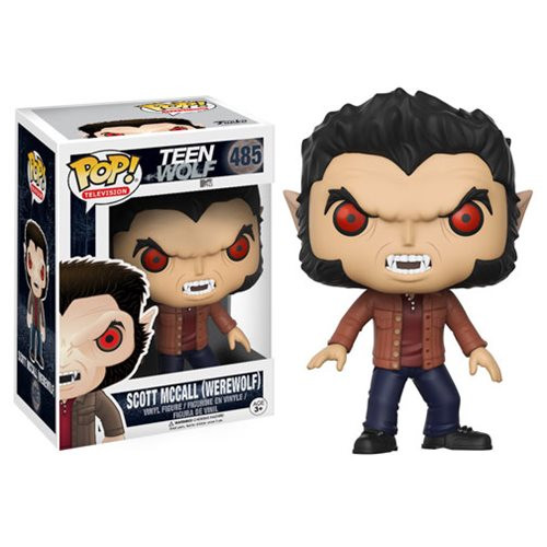 Expand your pack with the Teen Wolf crew! The hit MTV series Teen Wolf has received the Pop! Vinyl stylization treatment. This Teen Wolf Scott McCall Werewolf version Pop! Vinyl Figure measures approximately 3 3/4-inches tall and comes packaged in a window display box. Ages 3 and up.