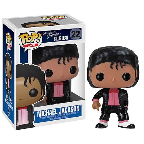 Funko POP! Rocks Michael Jackson Vinyl Figure #22 [Billie Jean]