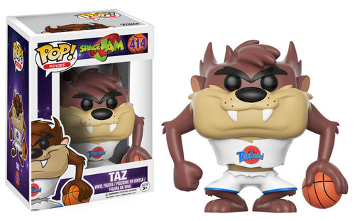 Get ready to jam! Get ready for the ultimate game with a familiar character from 1996's Space Jam. This Space Jam Taz Pop! Vinyl Figure measures approximately 3 3/4-inches tall and comes packaged in a window display box. Ages 3 and up.