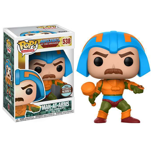 Masters of the Universe Funko POP! TV Man-At-Arms Exclusive Vinyl Figure #538