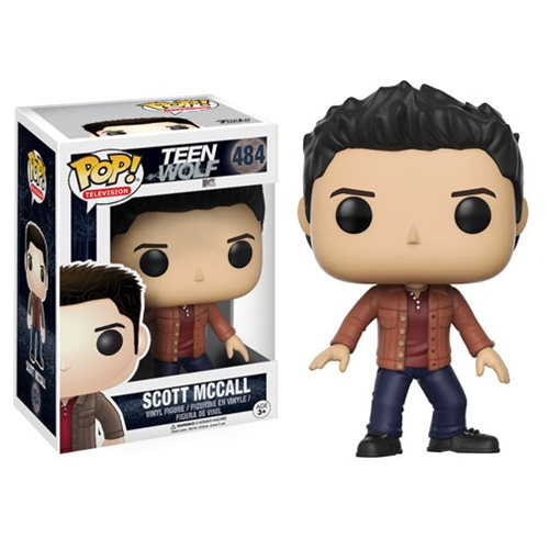 Expand your pack with the Teen Wolf crew! The hit MTV series Teen Wolf has received the Pop! Vinyl stylization treatment. This Teen Wolf Scott McCall Pop! Vinyl Figure measures approximately 3 3/4-inches tall and comes packaged in a window display box. Ages 3 and up.