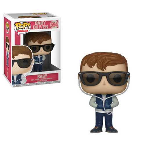 Baby Driver Funko POP! Movies Baby Vinyl Figure #594