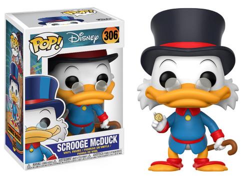 DuckTales Funko POP! Disney Scrooge McDuck Vinyl Figure #306