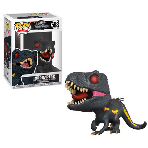 Jurassic World Fallen Kingdom Funko POP! Movies Indoraptor Vinyl Figure #588