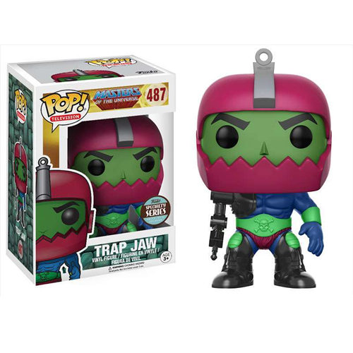 Masters Of The Universe Funko Pop Tv Trap Jaw Exclusive