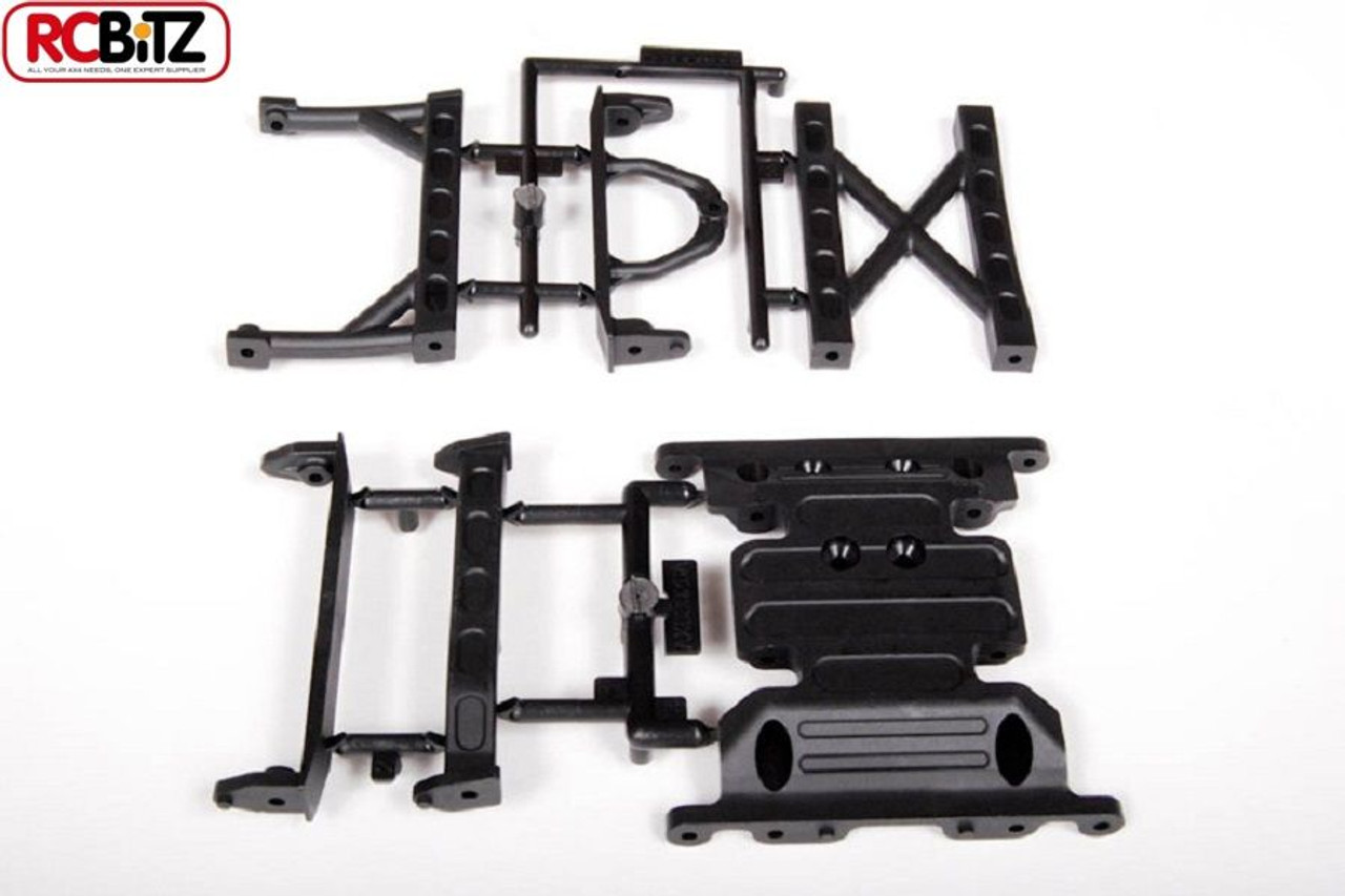 SCX10 Frame Brace Skid Plate Transmission Mounting Honcho Axial Jeep ...