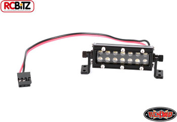 "RC4WD 1/10 High Performance LED Light Bar 40mm 1.5"" Z-E0054 Receiver connection"