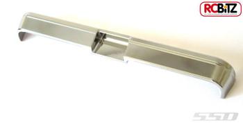 SSD-RC Blazer Rear Bumper for Vaterra Ascender CHROME inc harware SSD00033