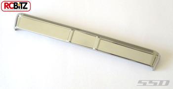 SSD Blazer Front Bumper for Vaterra Ascender CHROME inc harware SSD00031