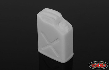 RC4WD 1/10 Scale Jerry Fuel Can Accessory PLASTIC can be painted Z-S1191