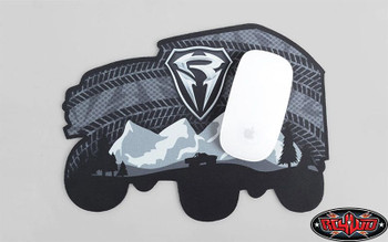 RC4WD Truck Mouse Pad Polyester Fabric 270 x 200mm Grey Black Z-L0075