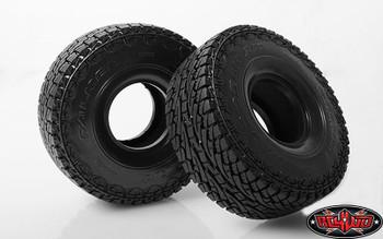 RC4WD Falken Wildpeak A/T 1.9 Scale Tires SOFT Wide Flat Detailed Tread Z-T0135