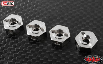 RC4WD 12mm Axle Wheel Hexes x 4 2 way mount HEX inc pins RC4WD Z-S0238 G2 TF2 5mm