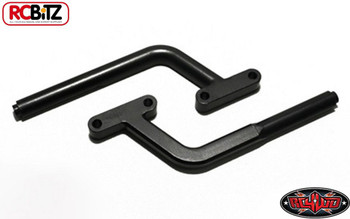 Front Bumper Supports for Axial Wraith CNC Machine Metal BLACK RC4WD Z-S0484