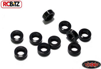 2mm Black Steel Spacer with M3 Hole 10 Suspension Links RC4WD Z-S0600 RC Washer