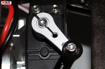 Adjustable HD Metal Servo Arm Horn for Futaba Savox 25t SILVER RC4WD Z-S0216 RC