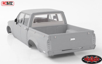 Mojave II Four Door Complete Body Set Trail Finder LWB RC4WD Z-B0119 TF2 Grey
