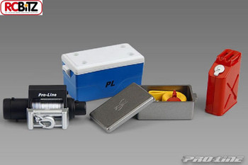 Pro Line Scale Accesories Cooler Box & Lid Winch Box Gas Can Winch 6040-00
