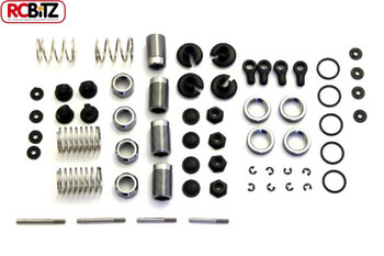 Carisma GT14 Aluminum Adjustable Oil-Shock Kit CA14534 Oil Required