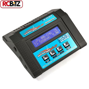 Etronix PowerPal 2.0 AC DC Balance Performace Charger Discharger 80w ET0201 RC