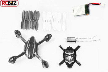 Hubsan X4L Mini Quadcopter Crash Pack Body Battery Props Motors X4 L H107-A37