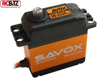 Savox SB-2230SG Monster 41kg Torque Brushless Tall Steel Gear Digital Servo SAV-SB2230SG