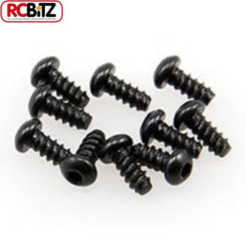 Axial Hex Socket Tapping Button Head M2.6 x 6mm 10 Body Panel screws Wraith + Jr