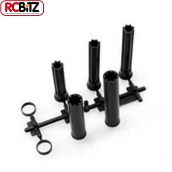 AXIAL WB8 Plastic DRIVESHAFT SCX10 Wraith AX10 rings & different length AX80084