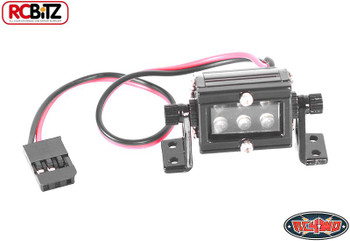 """10th Scale High Performance LED Light Bar SMALL 20mm 0.75"""" Wired Mounted"""