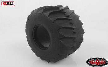 "B&H 2.6"" Monster Truck Clod Buster Tires inc foams RC4WD Z-T0018 Tamiya Tyre"